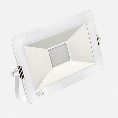 Projecteur extérieur 20W blanc Yako slim 3000K 230 volts Europole 40120