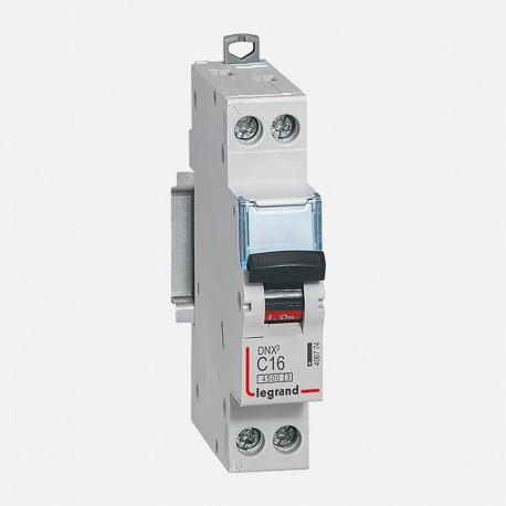 Disjoncteur phase neutre 16A à vis Legrand