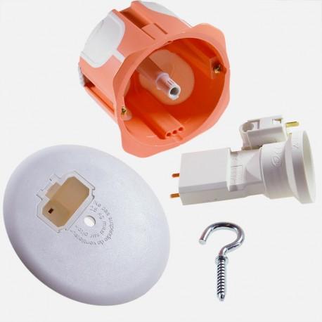 100 boites de centre D67 mm DCL BBC 723552 - Capritherm