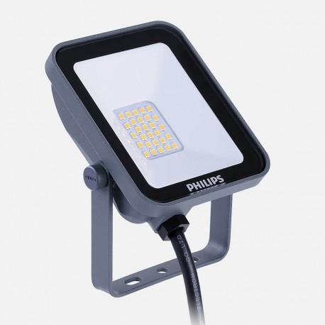 Projecteur extérieur noir Led 10w 840 Philips