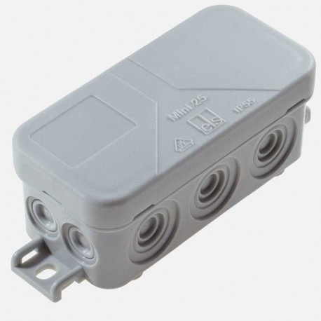 Boîte de dérivation étanche 89x43 mm IP55