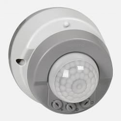 Détecteur de mouvements 3 fils Plexo complet IP55 saillie - gris