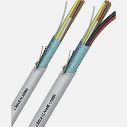 Câble d'alarme 6x0.22 mm² Sermes