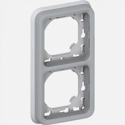 069685 support vertical plexo double composable Legrand