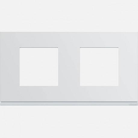 Plaque gallery plastique injecté 1 poste pure WXP0012