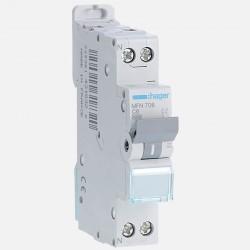 MFN706 Disjoncteur phase neutre 6A à vis Hager