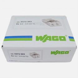 Borne wago série 2273, 2 fils de 0,5 à 2,5 mm²