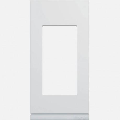 Plaque gallery plastique injecté 1 poste pure WXP0001