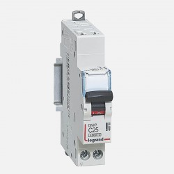 406785 Disjoncteur phase neutre 25A Legrand