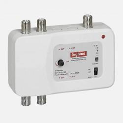 Amplificateur télévision UHF et VHF 792MHz Legrand 073951