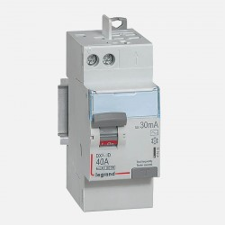 411632 Interrupteur différentiel 2P 230V~ 40A typeAC 30mA