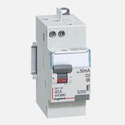 411638 Interrupteur différentiel 2P 230V~ 40A typeA 30mA