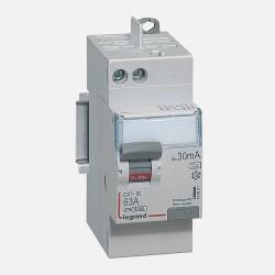 411651 Interrupteur différentiel 2P 230V~ 63A type A 30mA