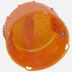 Boîte d'encastrement simple Batibox multimatériaux Ø80mm profondeur 50mm