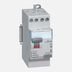 411617 Interrupteur différentiel 2P 230V~ 40A type A 30mA