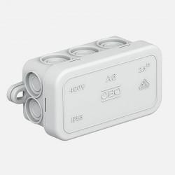 Boîte de dérivation étanche 80x43 mm IP55