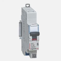 Disjoncteur courbe D 16A ph + neutre auto Legrand 406809
