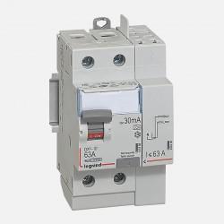 411639 Interrupteur différentiel 2P 230V 63A type A 30mA