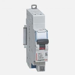 Disjoncteur courbe D 20A ph + neutre auto Legrand 406810