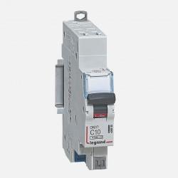 Disjoncteur courbe D 10A ph + neutre auto Legrand 406808