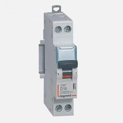 Disjoncteur courbe D 16A ph + neutre à vis Legrand 406802