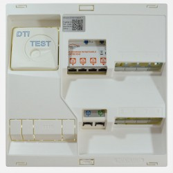 Coffret de communication grade 3TV avec ampli TV