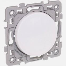 Square bouton poussoir blanc 60202