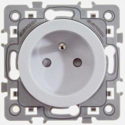 Prise 2P+T 16A Square 60260