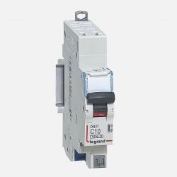 Disjoncteur phase neutre 10A borne auto Legrand 406782