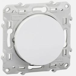 S520276 Odace poussoir lumineux blanc 10 A