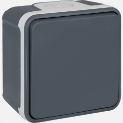 Interrupteur va et vient IP55 gris Oxxo 60800 eurohm
