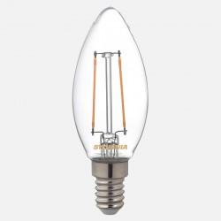 Lampe led E14 Toledo retro Flamme Sylvania