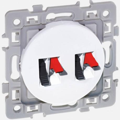 Prise double HP square 60275