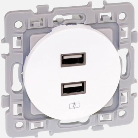 Prise chargeur USB 60229 Eur'ohm