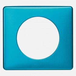 068771 Plaque Céliane Métal - finition Bleu Snake