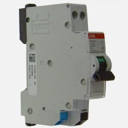 Disjoncteur Ph+N raccordement auto 20A - 4,5Ka ABB