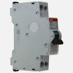 Disjoncteur Ph+N raccordement Vis 16A-4,5Ka ABB 470238