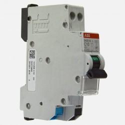 470436 Disjoncteur 10 ampères Ph+N raccordement sans Vis 4,5Ka ABB