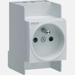 Prise de courant modulaire Hager SNS216