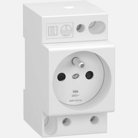 Prise de courant modulaire Schneider R9PCS616