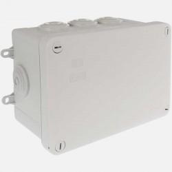 Boîte de dérivation étanche 105x105 mm P55 mm 1/4T IP55 Eur'ohm