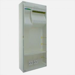 Coffret de communication grade 3 TV - 16 RJ45