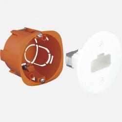 Boîte d'applique DCL Ø54 mm rénovation Eurohm