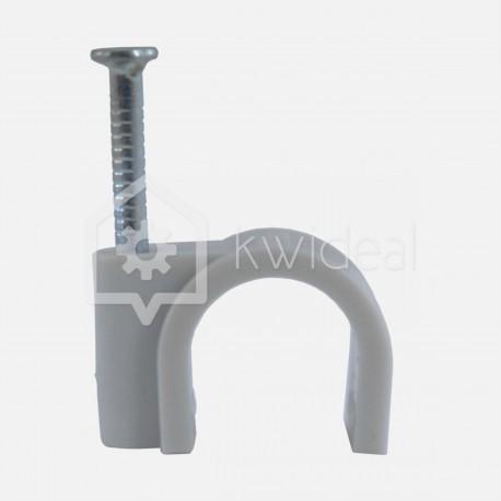 Pontet gris pour câble rond Ø12 mm Eur'ohm