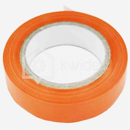 Scotch isolant d'électricien 15 mm x 10 ml orange Eur'ohm