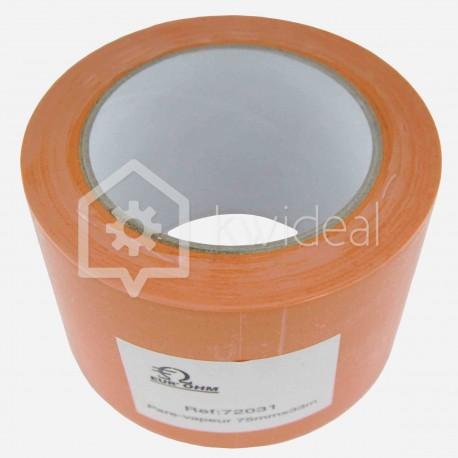 Ruban masquant orange 75 mm x 33 ml