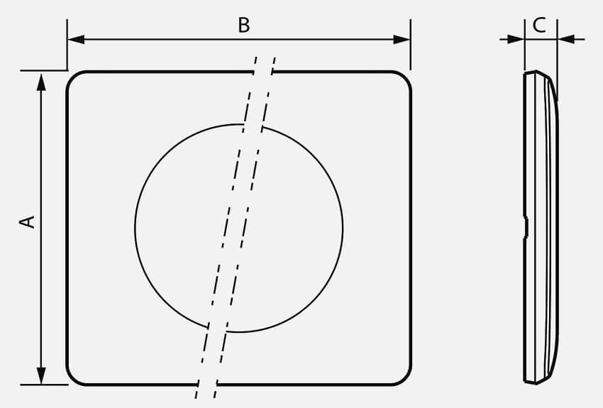 dimension plaque céliane