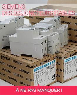 Siemens des disjoncteurs fiables à un prix raisonnable